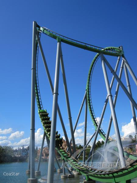 Incredible Hulk im Park Universal Studios Islands of Adventure Impressionen