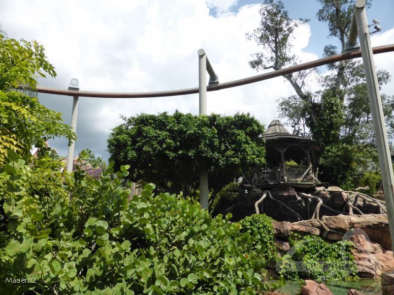 Pteranodon Flyers im Park Universal Studios Islands of Adventure Impressionen