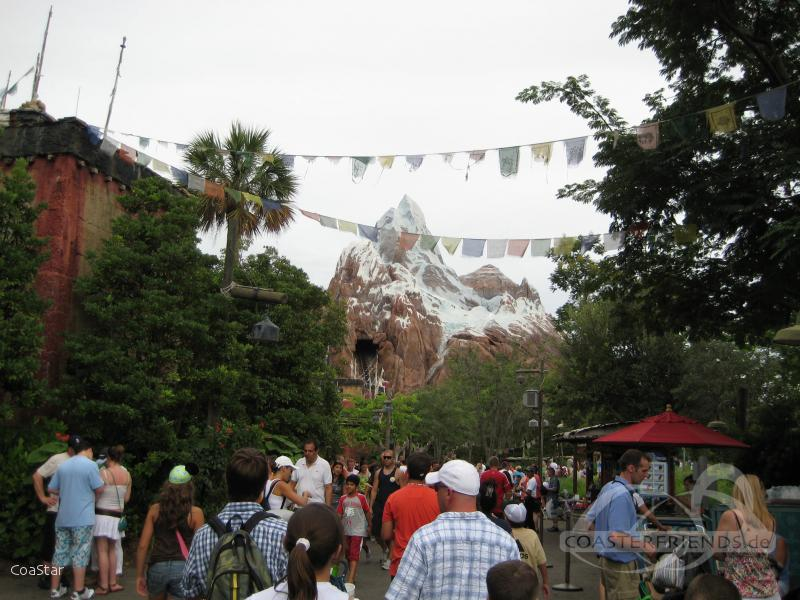 Expedition Everest im Park Walt Disney World - Disney's Animal Kingdom Impressionen