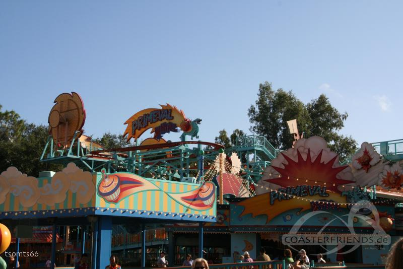 Primeval Whirl (Left) im Park Walt Disney World - Disney's Animal Kingdom Impressionen