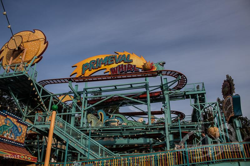 Primeval Whirl (Right) im Park Walt Disney World - Disney's Animal Kingdom Impressionen