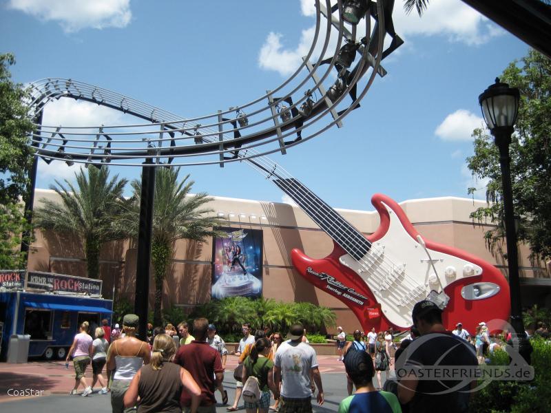 Rock 'n' Roller Coaster im Park Walt Disney World - Disney's Hollywood Studios Impressionen