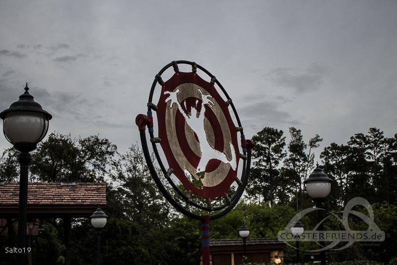 Barnstormer im Park Walt Disney World - Magic Kingdom Impressionen