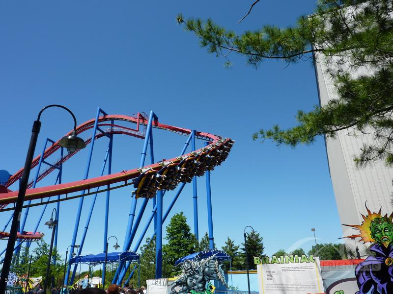 Superman - Ultimate Flight im Park Six Flags Great America Impressionen