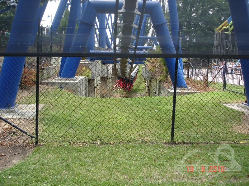 Afterburn im Park Carowinds Impressionen