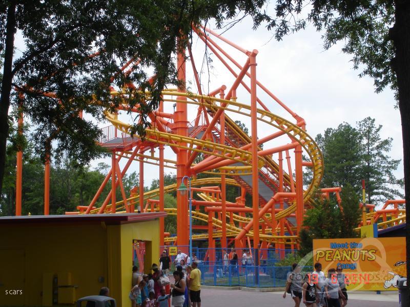 Kiddy Hawk im Park Carowinds Impressionen