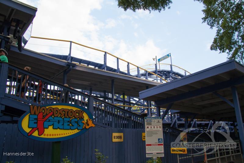 Woodstock Express im Park Carowinds Impressionen