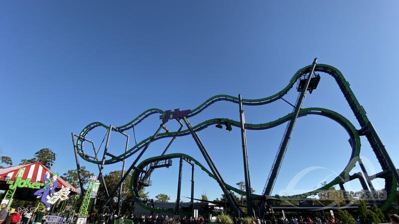 The Joker im Park Six Flags Great Adventure Impressionen