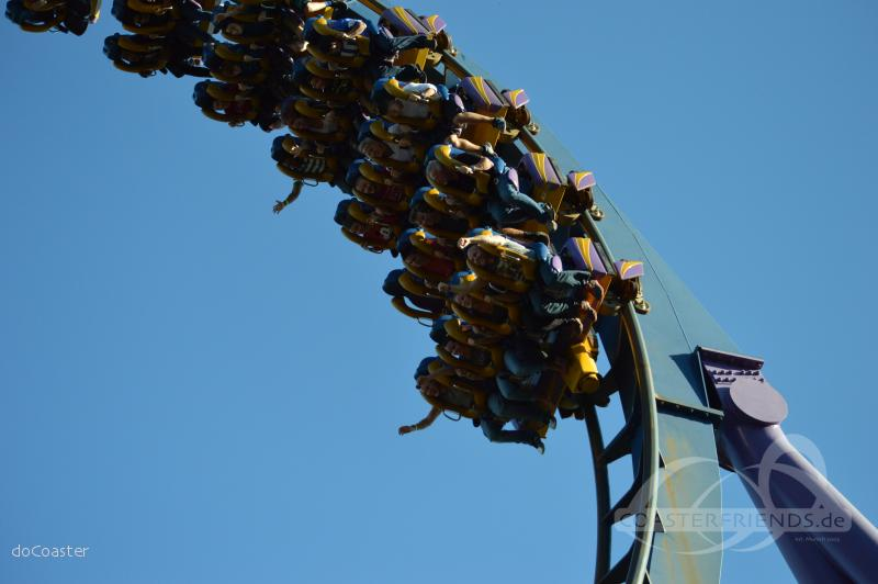 Bizarro im Park Six Flags Great Adventure Impressionen