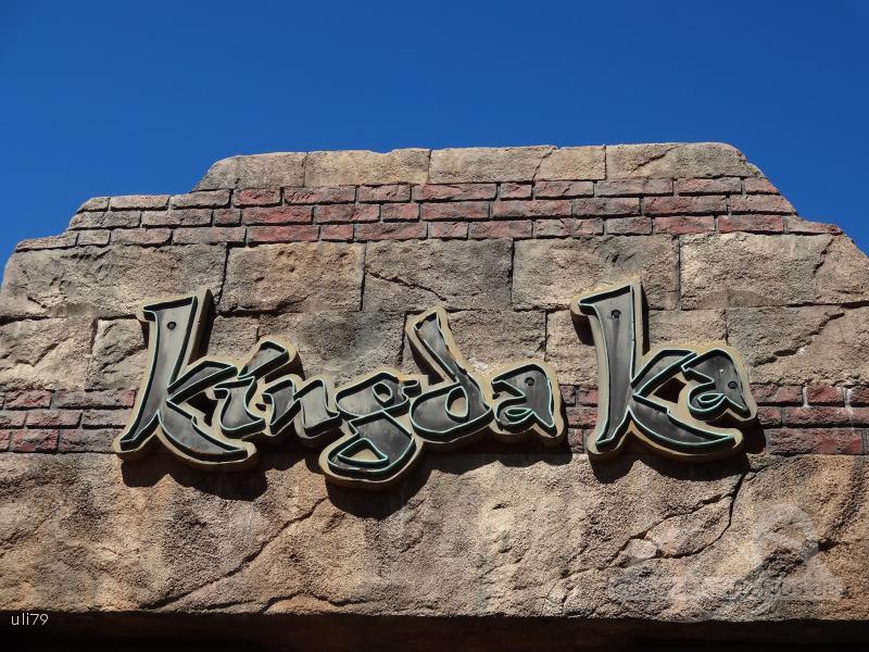 Kingda Ka im Park Six Flags Great Adventure Impressionen