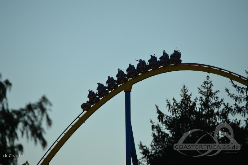 Nitro im Park Six Flags Great Adventure Impressionen