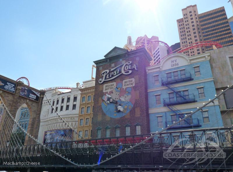 Big Apple Coaster im Park New York New York Hotel & Casino Impressionen