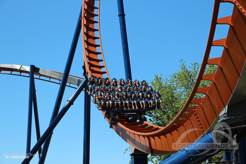 Valravn im Park Cedar Point Impressionen