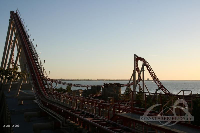 Maverick im Park Cedar Point Impressionen