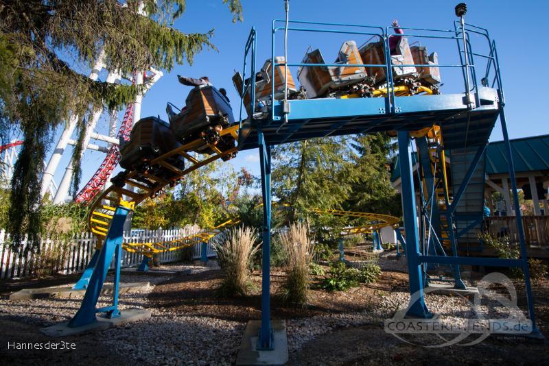 Cocoa Cruiser im Park Hersheypark Impressionen