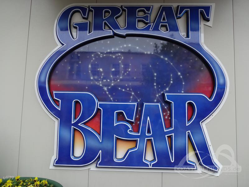 Great Bear im Park Hersheypark Impressionen