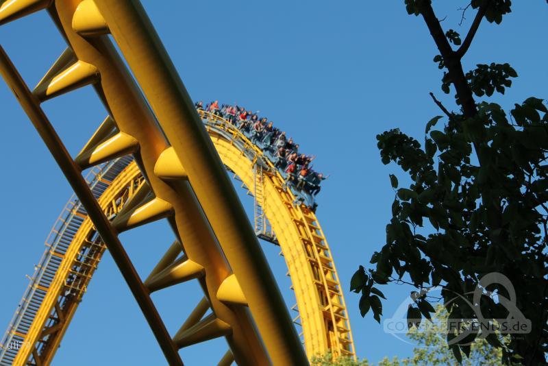 Skyrush im Park Hersheypark Impressionen