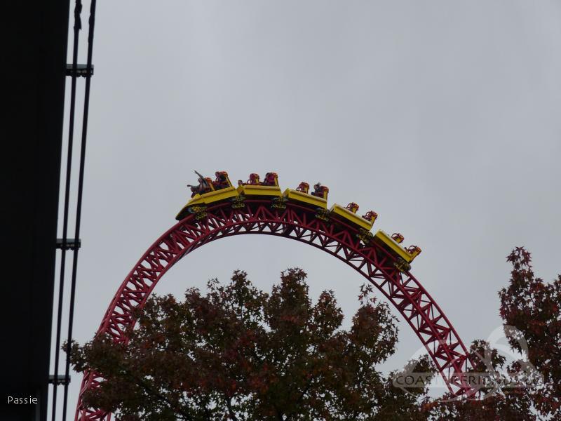 Storm Runner im Park Hersheypark Impressionen