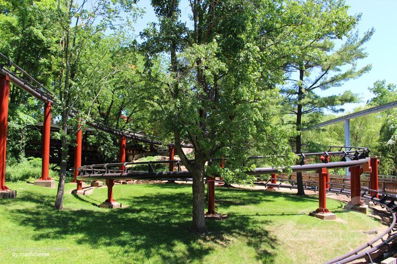 Trailblazer im Park Hersheypark Impressionen