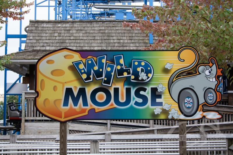 Wild Mouse im Park Hersheypark Impressionen