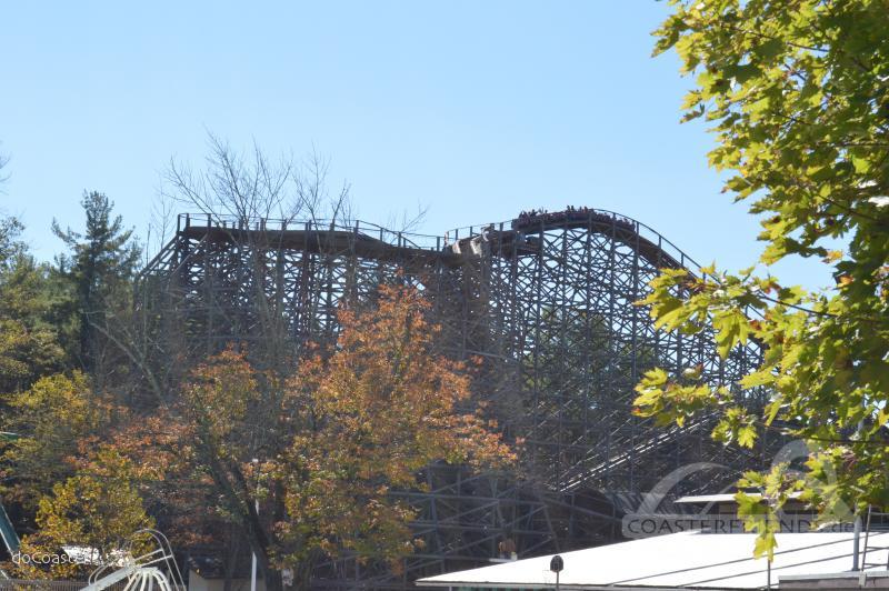Twister im Park Knoebels Amusement Park & Resort Impressionen