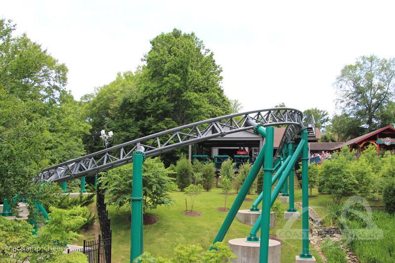 Verbolten im Park Busch Gardens Williamsburg Impressionen