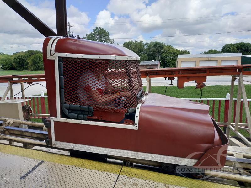 Wild & Wooly Toboggan im Park Little Amerricka Impressionen