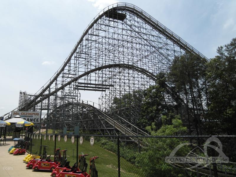 Hades 360 im Park Mt. Olympus Water & Theme Park Impressionen