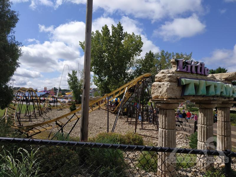 Little Titans im Park Mt. Olympus Water & Theme Park Impressionen
