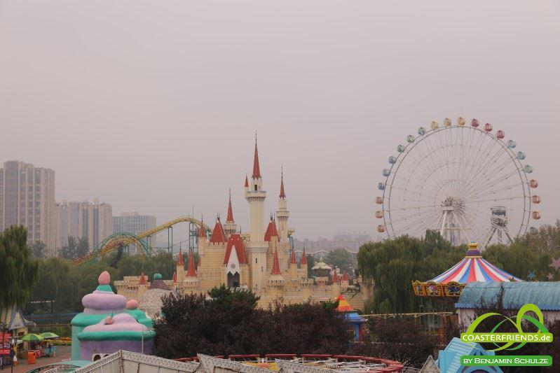 Beijing Shijingshan Amusement Park Impressionen