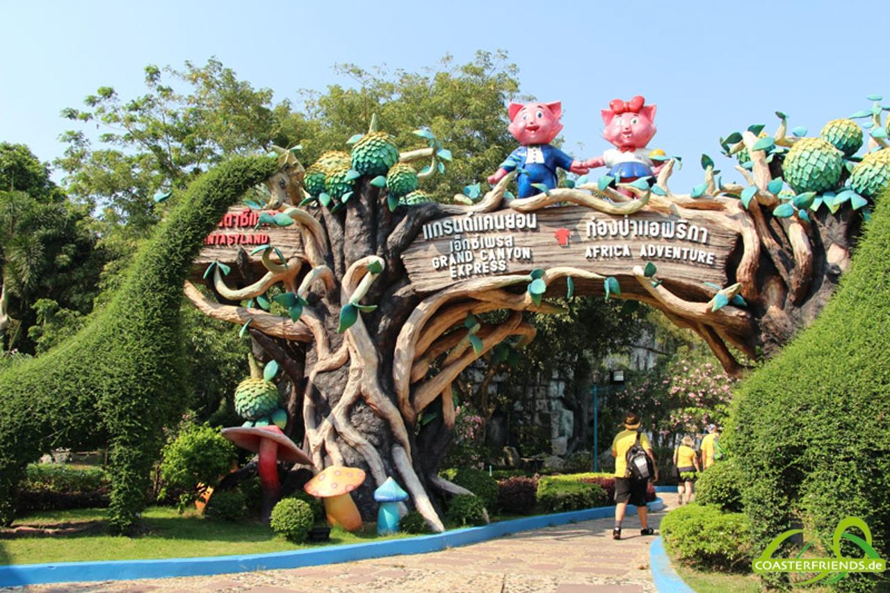 Siam Park City Impressionen