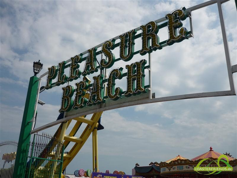 Great Yarmouth Pleasure Beach Impressionen
