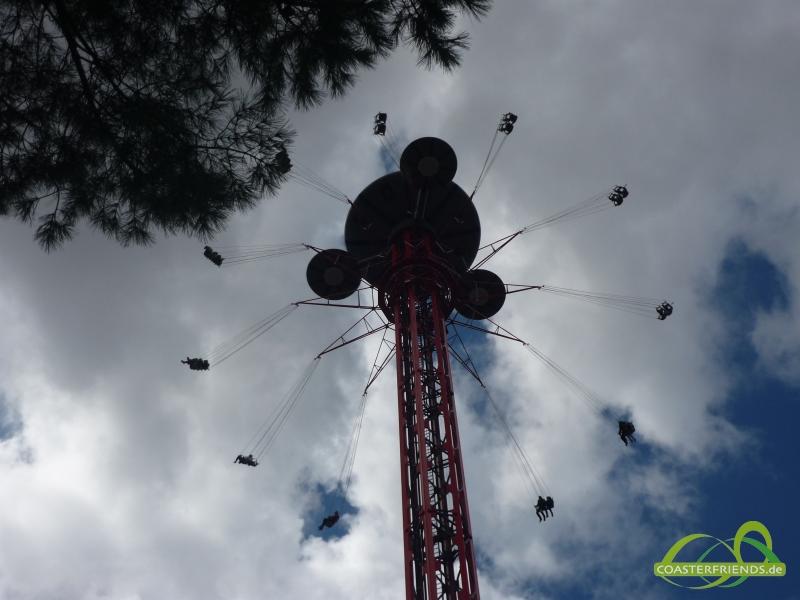 Parque de Atracciones de Madrid Impressionen