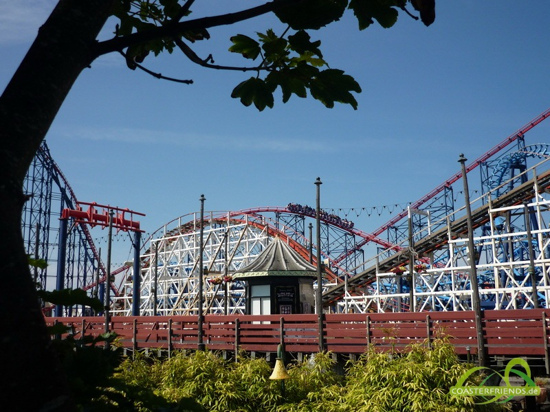 Blackpool Pleasure Beach Impressionen