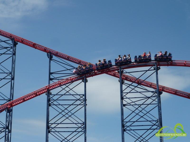 Blackpool Pleasure Beach Impressionen