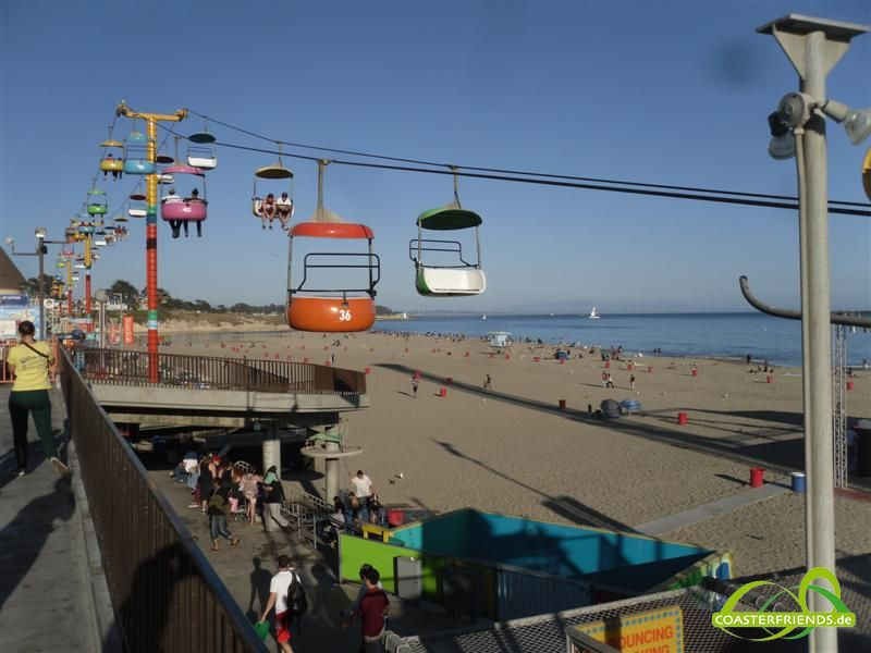 Santa Cruz Beach Boardwalk Impressionen