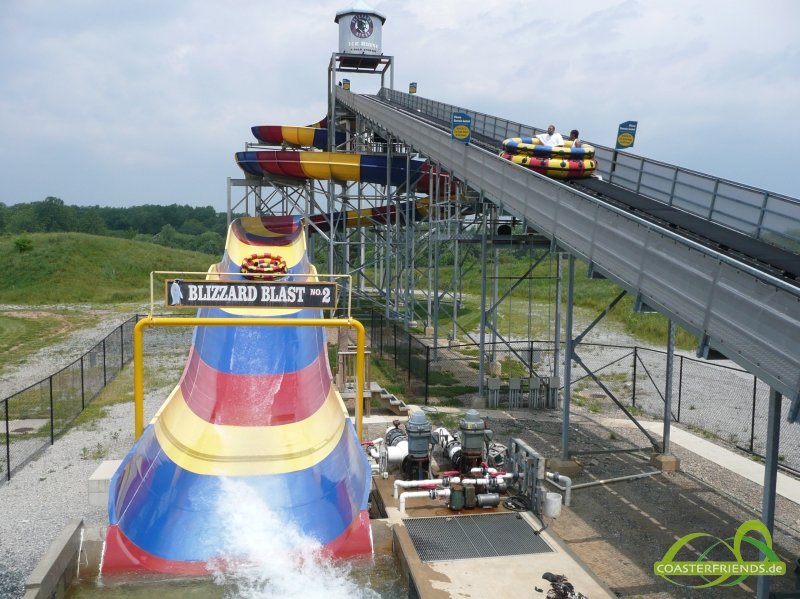 Six Flags America Impressionen