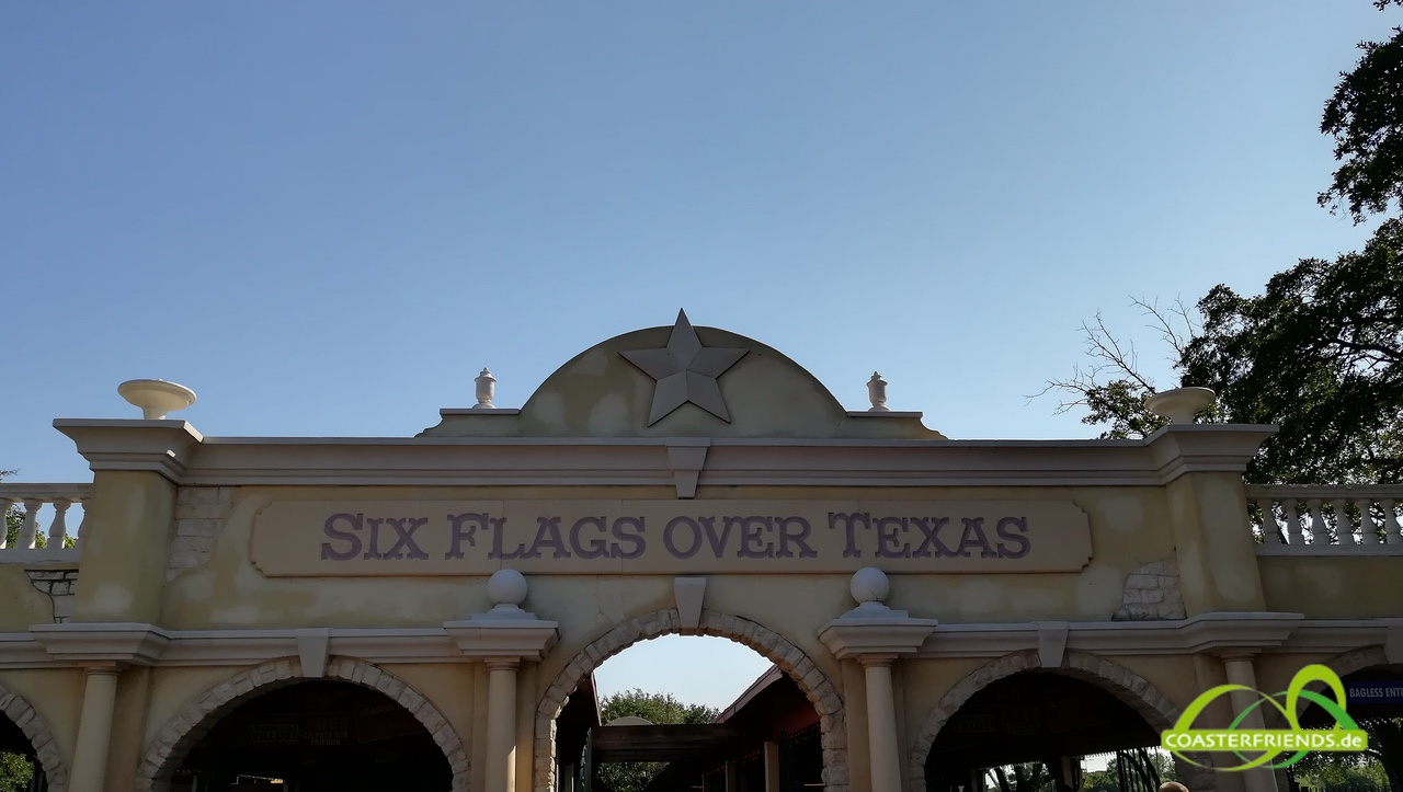 Six Flags Over Texas Impressionen