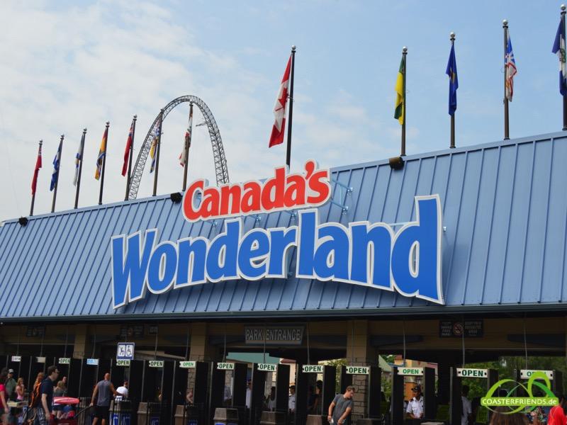 Canada's Wonderland Impressionen