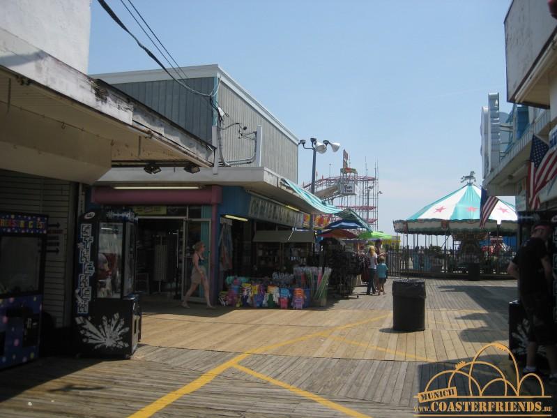 Funtown Pier Impressionen