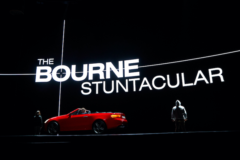 01 The Bourne Stuntacular