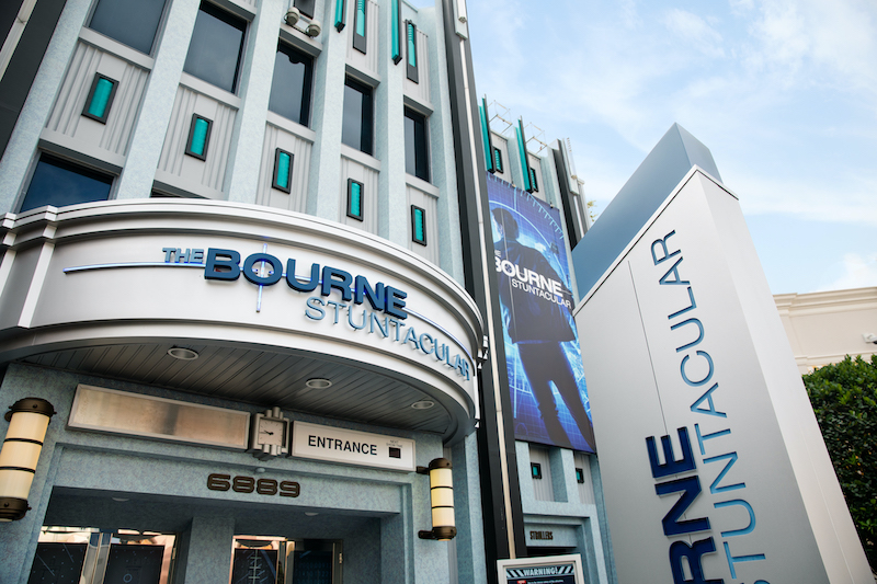 10 The Bourne Stuntacular Exterior
